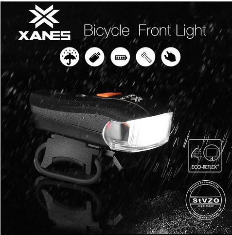Die XANES SFL-01 Akku-Fahrradlampe für 8,38 Euro bei Banggood!