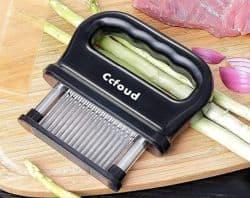 Ccfoud Fleischzartmacher/Tenderizer mit 48 Edelstahlklingen für 8,49€