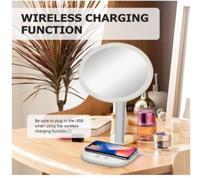Mayepoo Schminkspiegel mit Smarthone-Ladestation für nur 12,99€ inkl. Versand
