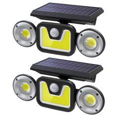 Doppelpack Ltteny TG-TY051 Solar-Außenlampen mit Bewegungsmelder für 21,99€ statt 26,99 €