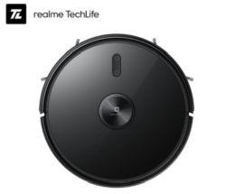 Der neue Realme TechLife 2-In-1 Saugroboter mit 3000 Pa Saugkraft und Lidar Laser Navigation für 283,79€