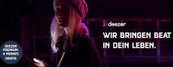 4 Monate Deezer Musikflat gratis testen!