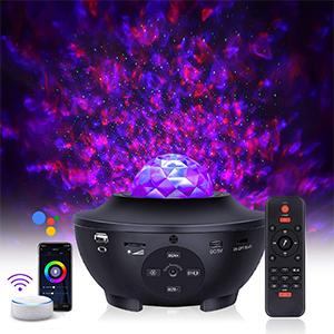 ESHUNQI Sternenhimmel LED Projektor mit Lautsprecher & Sprachsteuerung für nur 24,99€