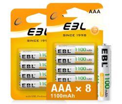 8er Pack EBL AAA Akkus 1100mAh für nur 5,99€
