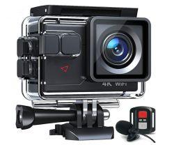 Govic Action Cam AC700 4K 20MP WiFi mit 2 Akkus für 39,59€
